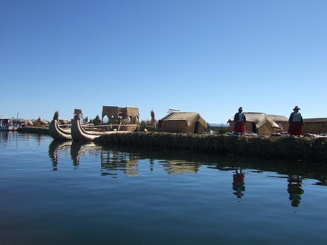世界最高の湖 チチカカ湖へ